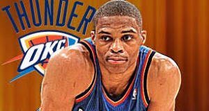 Russell Westbrook looks to lead his Oklahoma City Thunder to big road win in Portland tonight