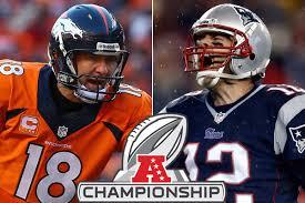 Sunday Denver Broncos vs. New England Patriots NFL AFC Championship Game Picks & Predictions