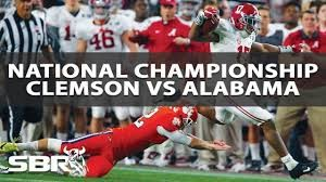 No. 2 Clemson Tigers vs. No. 1 Alabama Crimson Tide Preview