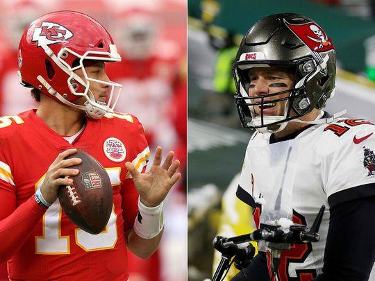 Super Bowl LV Betting Trends Kansas City at Tampa Bay, Mahomes Brady