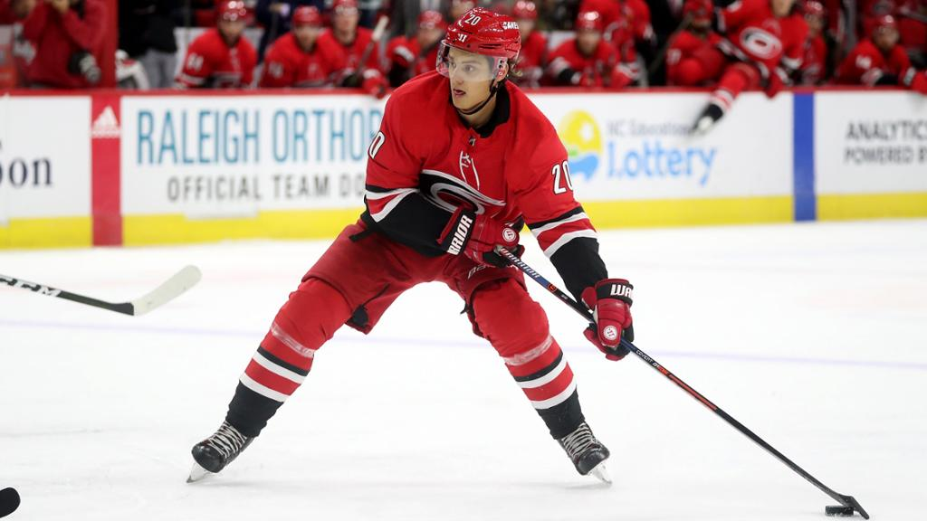NHL playoff picture carolina hurricanes aho