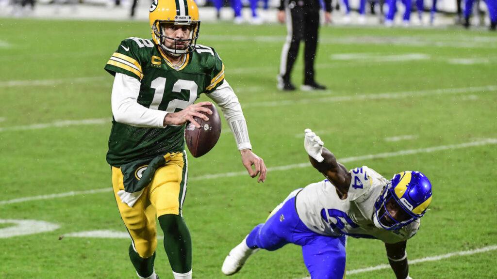NFL season win totals aaron rodgers