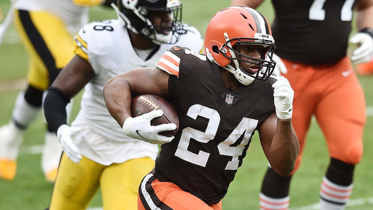 betting the browns run game with Nick Chubb