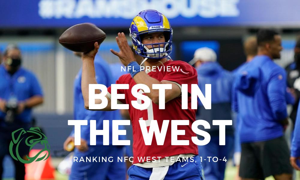 ranking NFC West teams for NFL 2021 season
