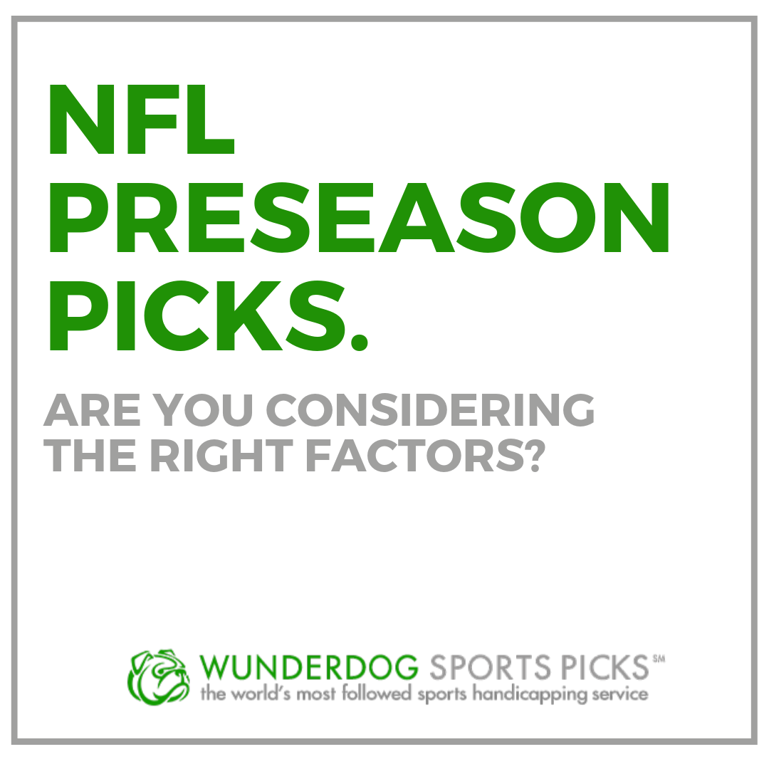 NFL preseason picks